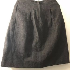 Black A-line skirt H&M Size 8 38
